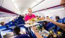 Сколько стоит бортовое питание у европейских авиакомпаний