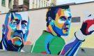 Почему закрашивают портреты на улицах